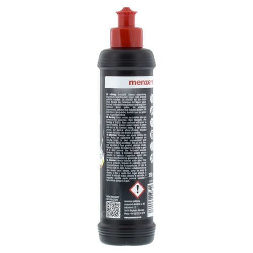 Menzerna 4x 250ml MC2500 SF3500 HC1000 Ultimate Protection